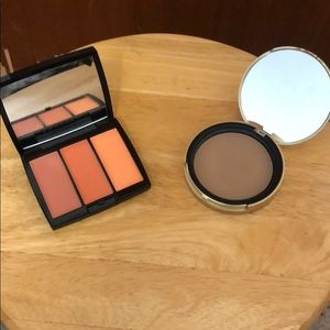 ABH BLUSH TRIO AND TOOFACED BRONZER